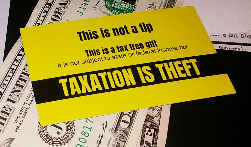 100 tax free tip cards